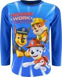 Bluzka Psi Patrol Heroes niebieska