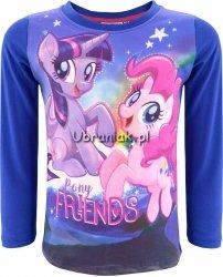 Bluzka Kucyki Pony Friends fiolet