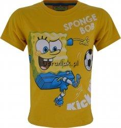 Koszulka SpongeBob z piłką żółta