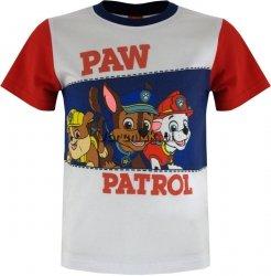 T-shirt Psi Patrol Koledzy biały