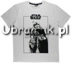 T-shirt Star Wars Sandtrooper biały