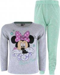 Piżama Minnie Mouse zielona