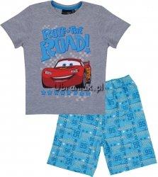 Piżama letnia Auta Cars szara