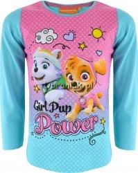 Bluzka Psi Patrol Girl niebieska