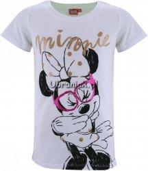 T-shirt Myszka Minnie biały
