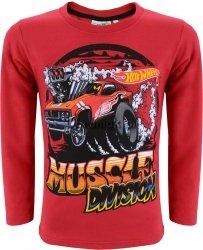 Bluzka Hot Wheels czerwona