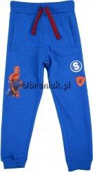 Spodnie dresowe Spiderman niebieskie
