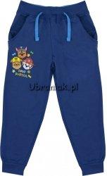 Spodnie dresowe wiosenne Psi Patrol niebieskie
