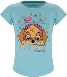T-shirt Psi Patrol Skye Dreaming niebieski