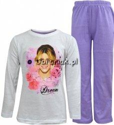 Piżama Violetta Dream biało fioletowa