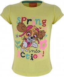 T-shirt Psi Patrol Skye Spring żółta