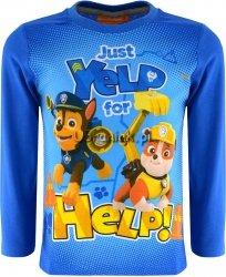 Bluzka Psi Patrol Help! niebieska