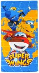Ręcznik kąpielowy dla chłopca Super Wings