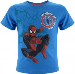 T-shirt Ultimate Spiderman niebieski