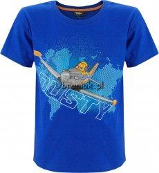 T-shirt Samoloty niebieski