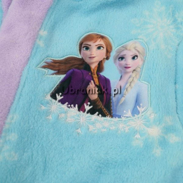Szlafrok Kraina Lodu Anna i Elsa niebieski