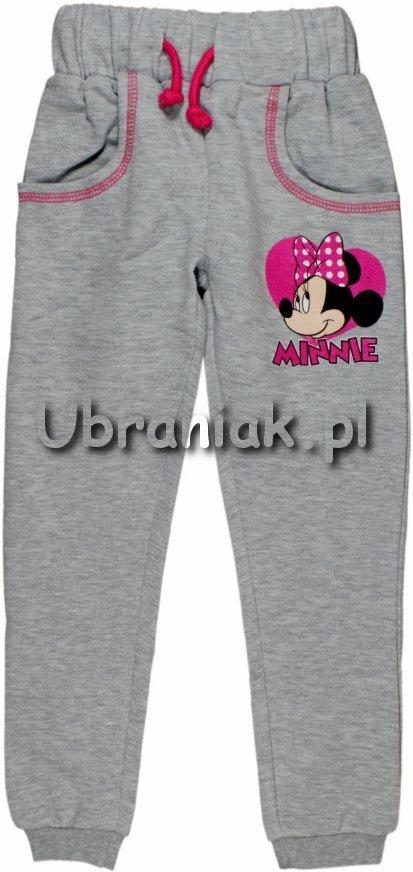 Spodnie dresowe Myszka Minnie szare