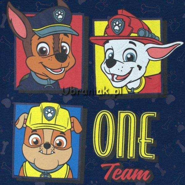Koszulka Psi Patrol Drużyna czerwona