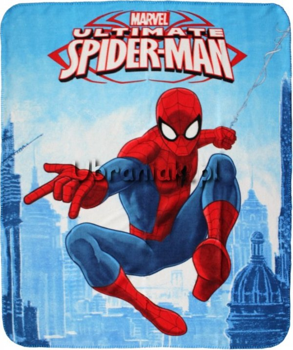 Kocyk polarowy Spiderman 120x140