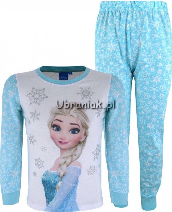 Piżama Kraina Lodu Elsa w gwiazdki niebieska
