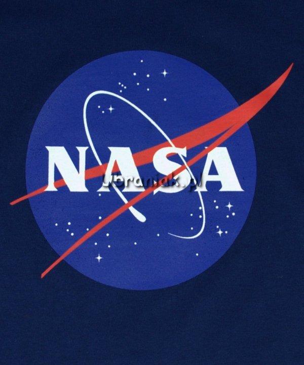 Bluzka NASA Logo granatowa