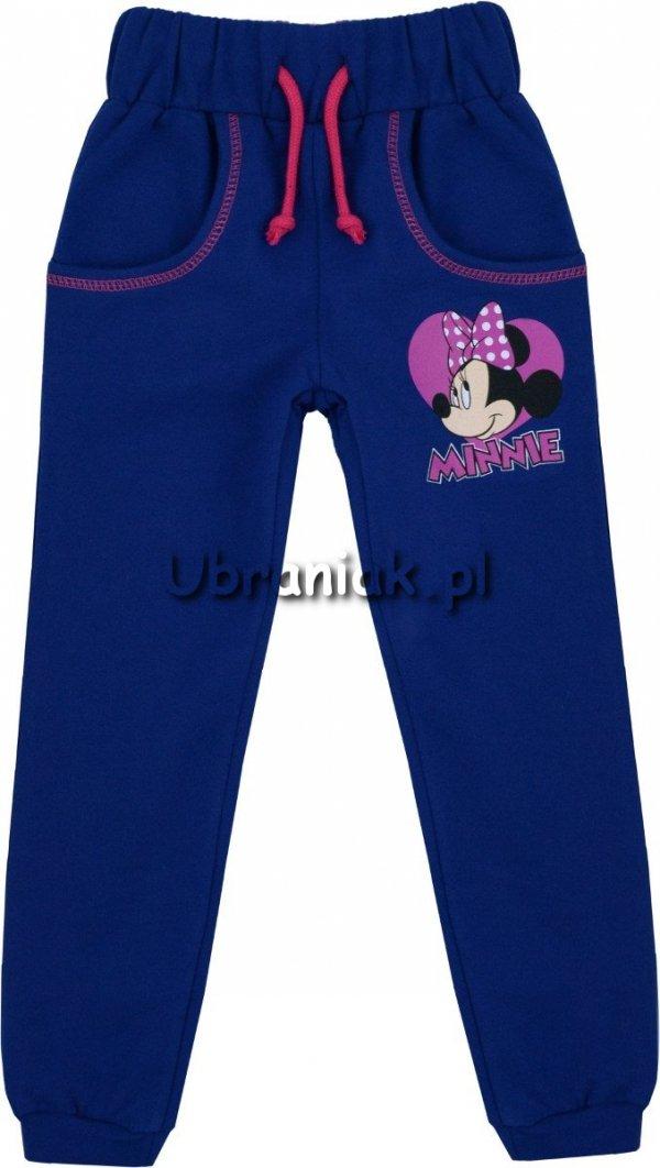 Spodnie dresowe Myszka Minnie granatowe