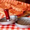 Prasa do hamburgerów - aluminiowa, średnica 12cm