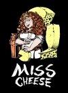 Damska koszulka - Miss Cheese roz. XL