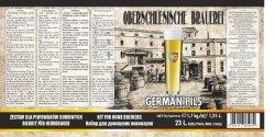 Oberschlesische Brauerei German Pils - 1,7kg + drożdże