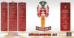 Dusseldorfer Alt 1,7kg + drożdże