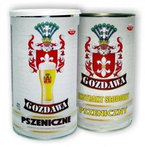 Piwo Pszeniczne - Zestaw - 3,4kg, 2 puszki GOZDAWA