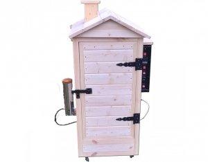 Wędzarnia drewniana ogrodowa automatyczna 150l.