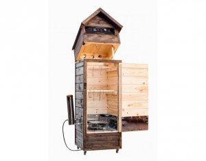 Wędzarnia drewniana elektryczna automatyczna 220 L