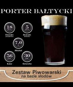 Surowce piwowarskie na 23L. - Porter Bałtycki