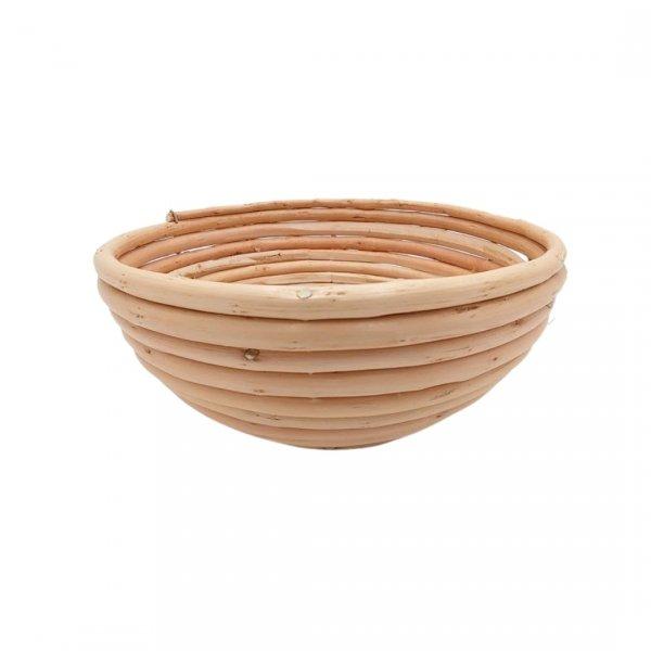 Okrągły koszyk do wyrastania chleba 1kg + pokrowiec