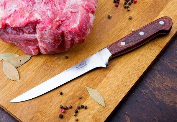 Stalowy nóż do filetowania 15cm