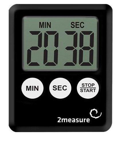 Minutnik czarny elektroniczny sygnalizator