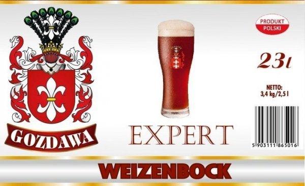 Piwo domowe Gozdawa ekspert  3,4 kg Weizenbock
