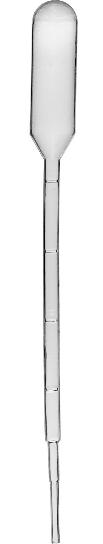 Pipeta Pasteura - plastikowa, 1 ml