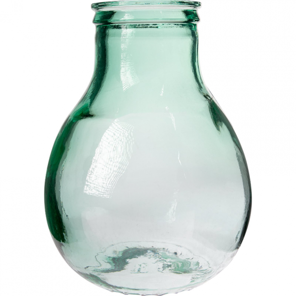 Balon do wina 10 L z szeroką szyjką w koszu plastikowy