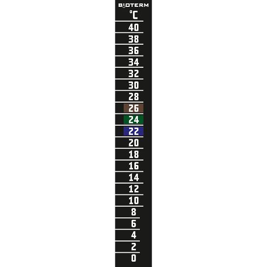 Termometr ciekłokrystaliczny 0°C +40°C