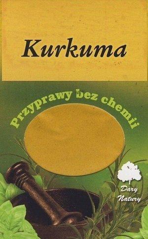Kurkuma - 50g - Dary Natury