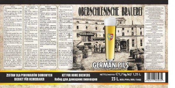 """Oberschlesische Brauerei """"German Pils"""" - 1,7kg + drożdże"""