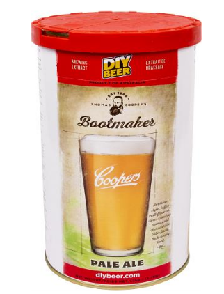 Koncentrat do wyrobu piwa Bootmaker Pale Ale 1,7 kg