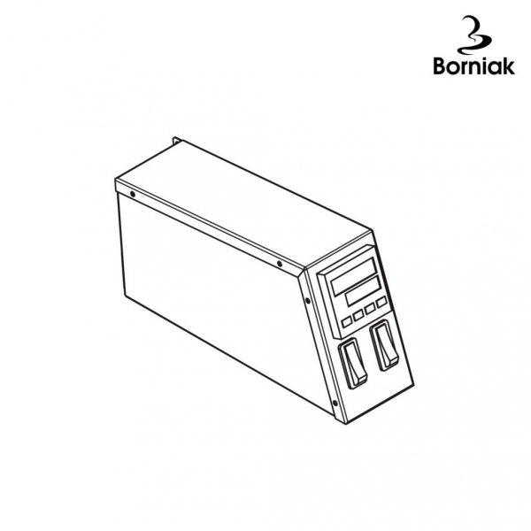 Panel cyfrowy Borniak BBQ, BBD - nierdzewny