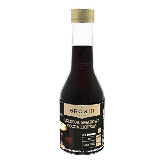 Esencja smakowa -Likier kakaowy na 0,75L alk- 20ml