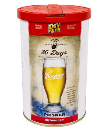 Koncentrat do wyrobu piwa 86 Days Pilsner 1,7 kg