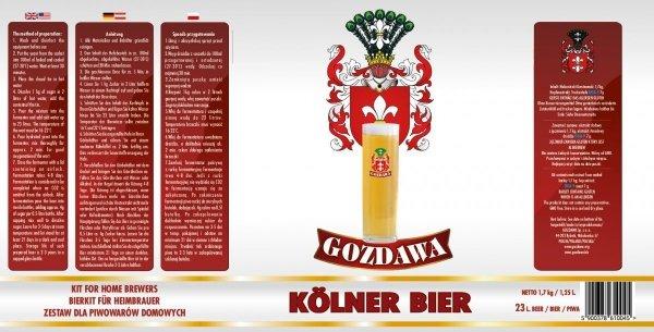 Kolner Bier 1,7kg + drożdże