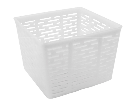 Forma serowarska kwadratowa, 11x11x8,5, 500 g
