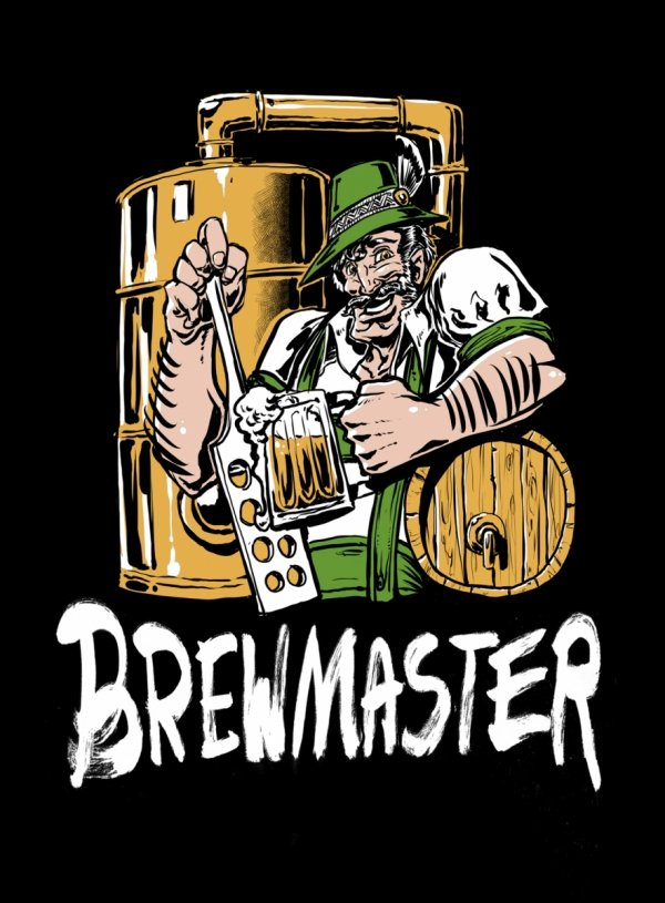 Koszulka, T-shirt Brewmaster roz.